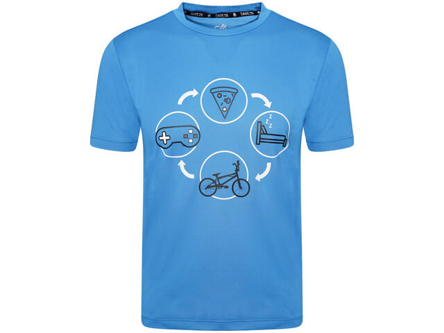 Dare 2b Rightful Camiseta Niños, methyl blue